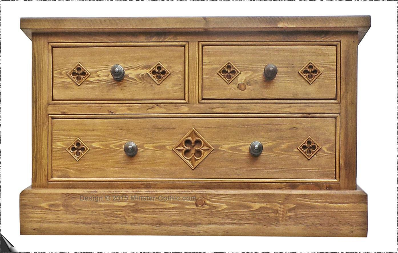 Our Hand Made Gothic Style Bedroom Furniture Minster