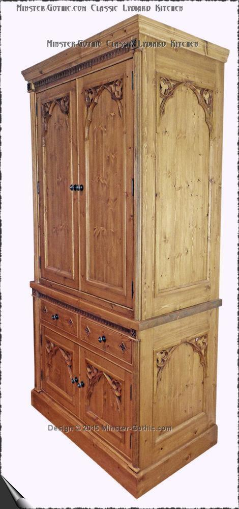 Minster Gothic Kitchens. Free-standing or fitted Kitchen furniture ...