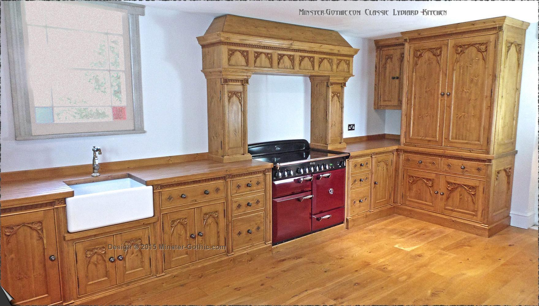 Minster Gothic Classic \ Lydiard\  Kitchen & Minster Gothic kitchens. Free-standing or fitted. - Minster Gothic ...