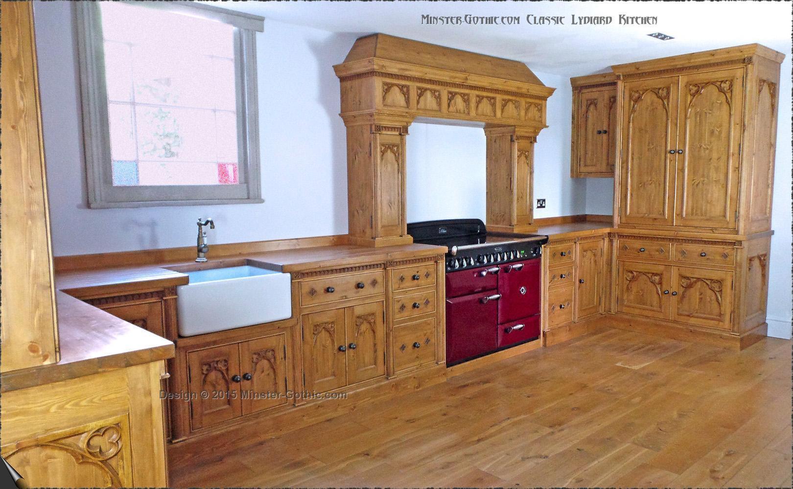 Kitchen Cabinets Ed Gothic Kitchen Cabinets