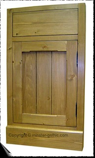 The York Range of Solid Pine Fitted Kitchen Units