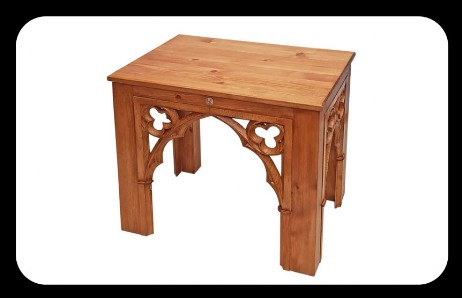 "Minster Classic Gothic ""Corinna"" Dining Table"